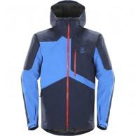 Haglöfs Nengal Insulated, herre skijakke, mørkeblå/blå