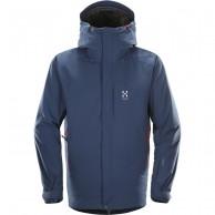 Haglöfs Niva Insulated Jacket, herre skijakke, blå