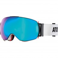 Atomic Revent Q, skibriller, hvid/blå
