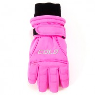 Cold Force Glove JR, junior skihandsker, sugar pink
