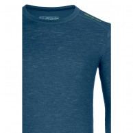 Ortovox Merino 105 Ultra Long Sleeve, blå