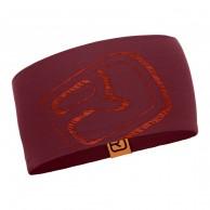 Ortovox Merino Cool Logo pandebånd, bordeaux