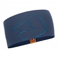 Ortovox Merino Cool Logo pandebånd, blå