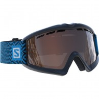 Salomon Kiwi goggles, sort/blå