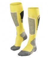 Falke SK4 skistrømper, mænd, gul