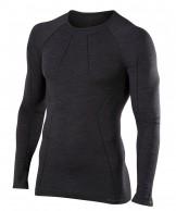 Falke Long Sleeved Shirt Wool-Tech, herre, sort