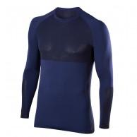 Falke Long Sleeved Shirt, herre, mørkeblå