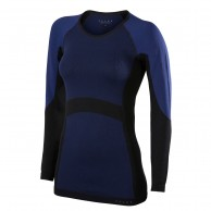 Falke Long Sleeved Shirt, dame, mørkeblå
