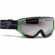 Demon Matrix skigoggle, sort/grøn
