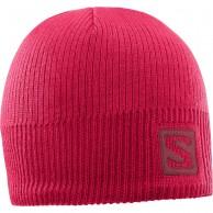 Salomon Logo Beanie, pink