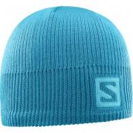 Salomon Logo Beanie, blå