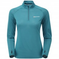 Montane Women's Allez Micro Pull-on, Zanskar Blue