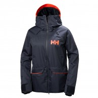 Helly Hansen W Powderqueen Skijakke, dame, blå
