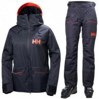 Helly Hansen W Powder skisæt, dame, blå