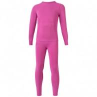 Lenz X-Action skiundertøj, sæt, junior, pink