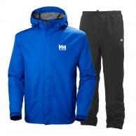 Helly Hansen Seven J, regnsæt, mænd, olympian blue