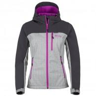 Kilpi Elia, softshell jakke, kvinder, lysgrå/violet