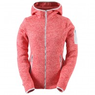 2117 of Sweden Heden fleece jakke, dame, pink