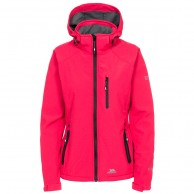 Trespass Bela II, softshell jakke, kvinder, raspberry