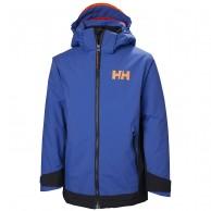 Helly Hansen Hillside skijakke, junior, olympian blue