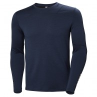Helly Hansen Lifa Merino Crew, herre, evening blue