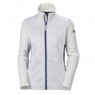 Helly Hansen W Graphic fleece jacket, dame, hvid
