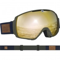 Salomon XT One goggles, olive night