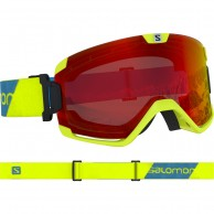Salomon Cosmic goggles, neon yellow
