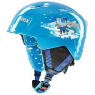 Uvex Manic skihjelm, blue snow