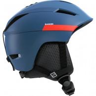 Salomon Ranger2 skihjelm, moroccan blue/neon red