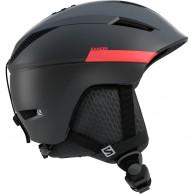 Salomon Ranger2 skihjelm, black/red accent
