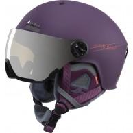 Cairn Eclipse Rescue, skihjelm med Visir, mat plum