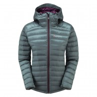 Montane Featherlite Down Jacket, dame, stratus grey