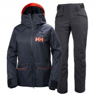 Helly Hansen W Powder/Legendary skisæt, dame, blue
