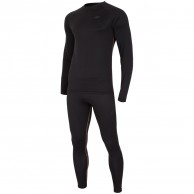 4F Thermodry skiundertøj sæt, herre, sort