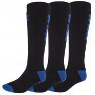 4F skistrømper, 3 par, herre, mørkeblå