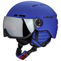 HEAD Knight visir skihjelm, blue