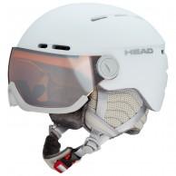 HEAD Queen visir skihjelm, white