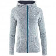 Outhorn Warmy Hoodie, fleece jakke, dame, turkis