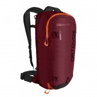 Ortovox Ascent 22, rygsæk, dark blood