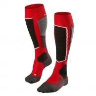 Falke SK2 skistrømper, rød