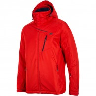 4F Leslie skijakke, herre, rød