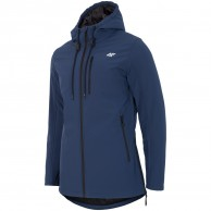 4F Rolf lang softshell jakke, herre, blå