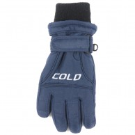 Cold Force Glove JR, junior skihandsker, navy