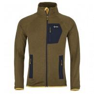 Kilpi Eris-M, fleece jakke, herre, gul