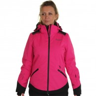 DIEL Zermatt skijakke, dame, magenta
