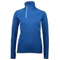Mons Royale Olympus 3.0 Half Zip, skiundertrøje, dame, oily blue