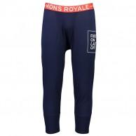 Mons Royale Shaun-off 3/4 Legging, skiunderbukser, herre, navy