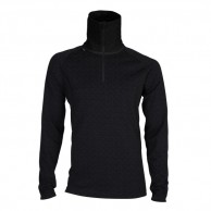 Ulvang 50Fifty turtle neck w/zip Ms, herrer, Black