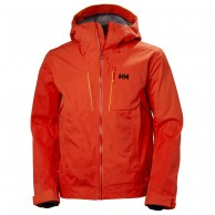 Helly Hansen Alpha Shell Jacket, herre, grenadine